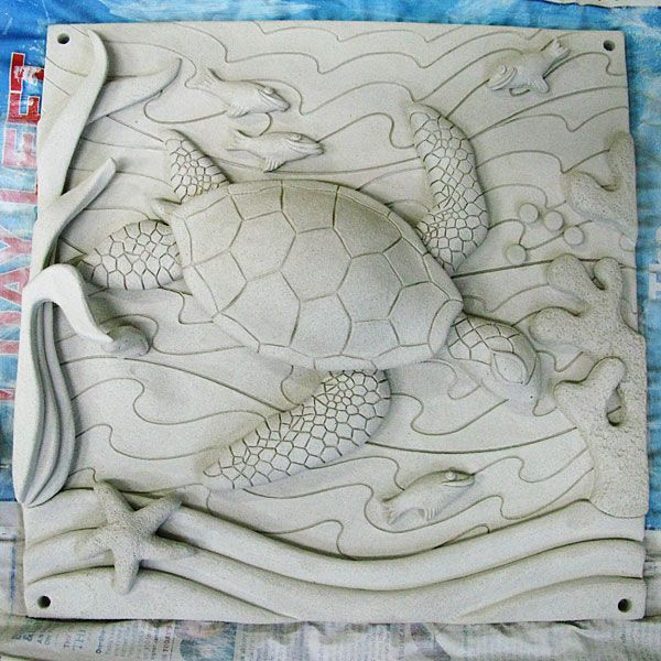 Each student could sculpt a clay tile featuring their favorite animal, or some other aspect about their personality. Would be a nice project for seniors if the tiles could be installed somewhere in the school, allowing the students to leave behind a piece of who they are.