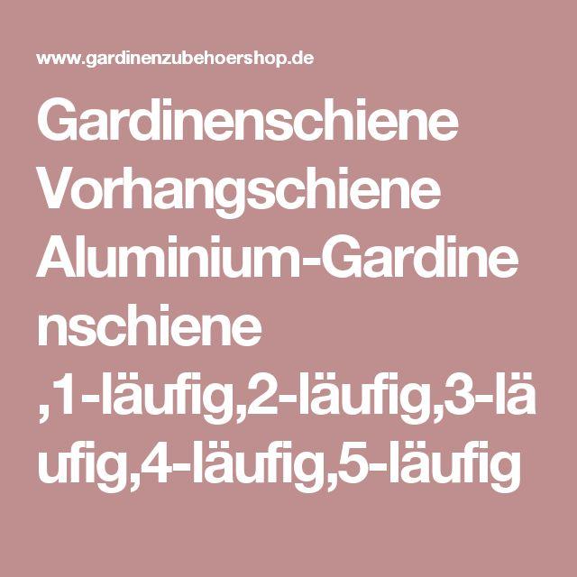 Gardinenschiene Vorhangschiene Aluminium 1 Lufig2 Lufig3
