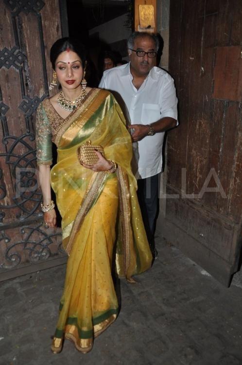 Sridevi snapped on Karva Chauth | PINKVILLA
