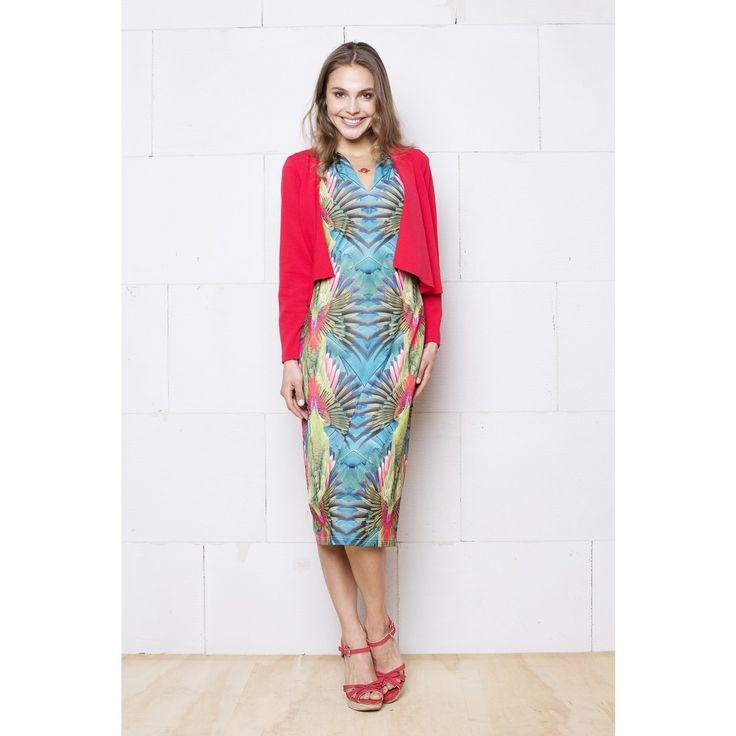 Tropische jurk Vaya mouwloos van Smashed Lemon bij Dresses Only!