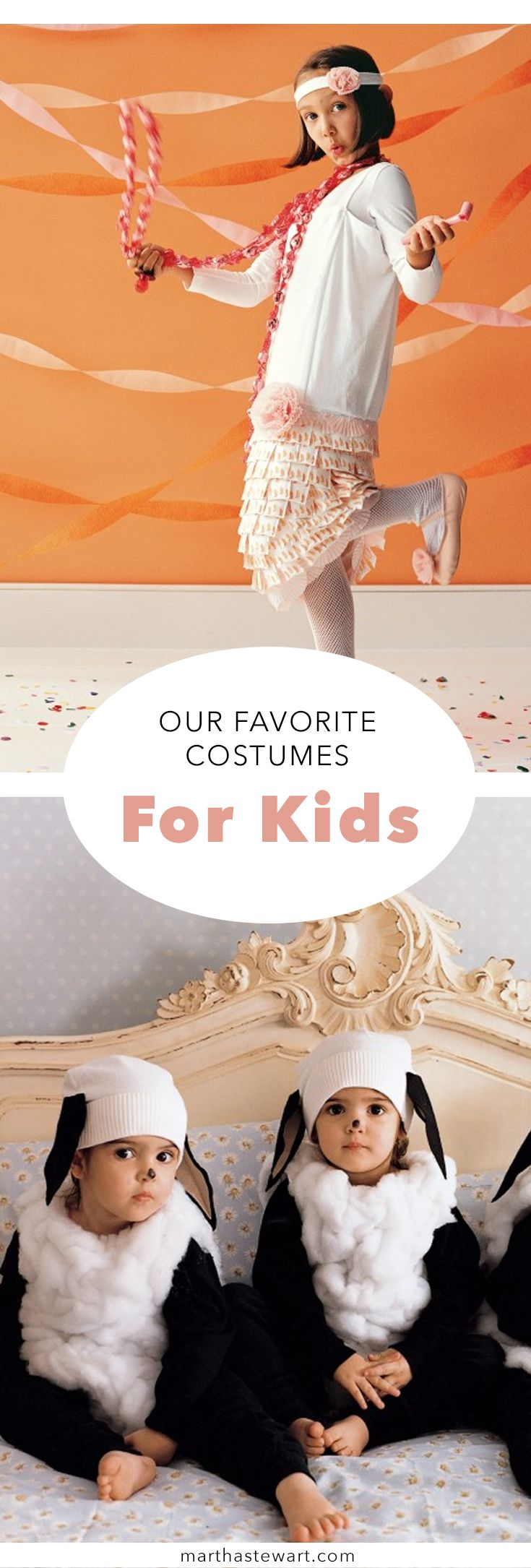 For adults, half the fun of Halloween is seeing how excited kids get about their costumes. The other half is seeing how cute they look! Not only do these 10 projects maximize the cute factor, but because they're DIY, your little trick-or-treater is guaranteed a one-of-a-kind costume.