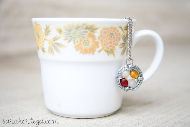 DIY birthstone jewelry: Crafts Ideas, Jewelry Necklaces, Diy Birthstones, Gifts Ideas, Bird Nests, Diy Jewelry, Sarah Ortega, Birds Nests Necklaces, Birthstones Jewelry