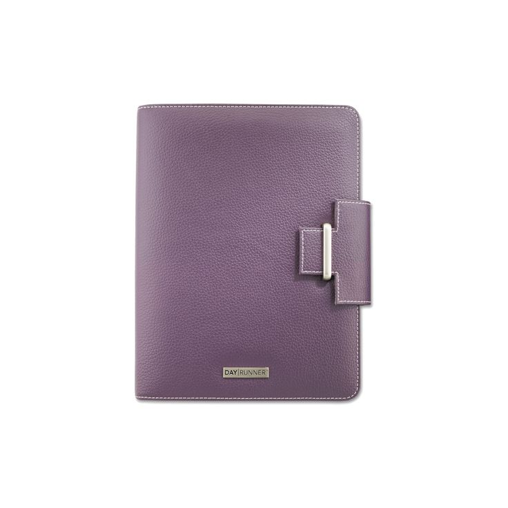 Day Runner Terramo Refillable Planner, 5-1/2 x 8-1/2, Eggplant