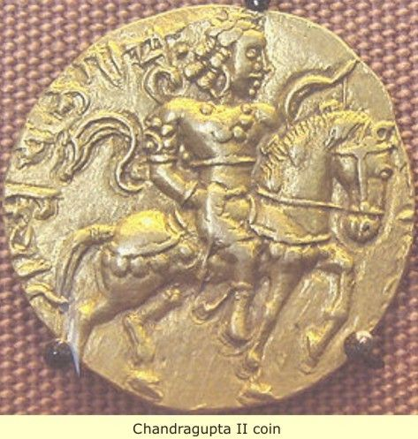 The Indus Valley: The Beginnings of Indian Culture -  Chandragupta II,ancient  coin