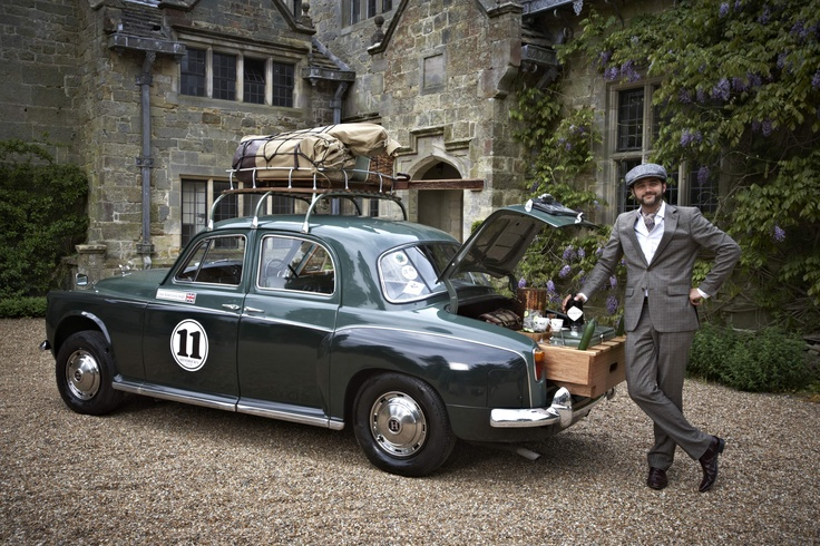 Hendrick's gin & the Adventurists presents a global series of afternoon teas with a legend of adventure