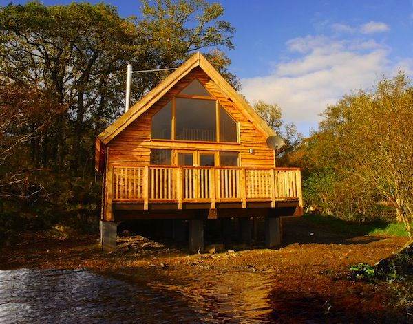 Loch Awe Log Cabin Travel Gorgeous Places To Stay