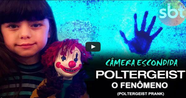 Poltergeist - O Fenômeno - (Pegadinha - Câmera Escondida)
