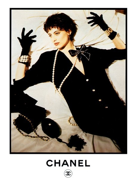 ines de la fressange 80s ads pinterest. Black Bedroom Furniture Sets. Home Design Ideas