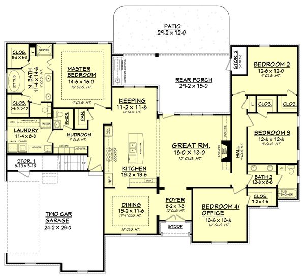 117 best house plans 2 500 3 000 sq ft images on pinterest for 2500 to 3000 sq ft homes