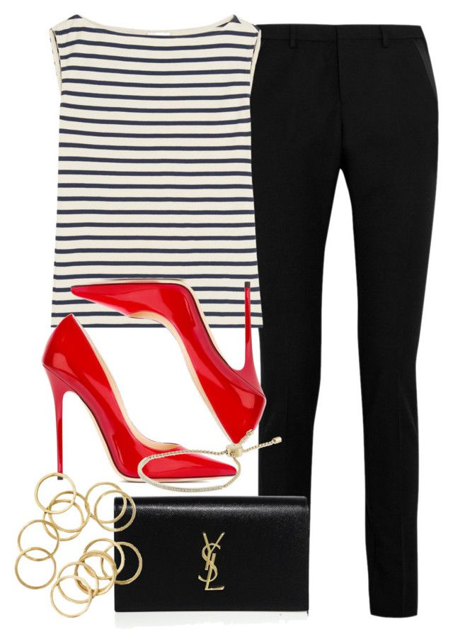 Style #9789 by vany-alvarado on Polyvore featuring polyvore, fashion, style, Yves Saint Laurent, Jimmy Choo, Michael Kors, women's clothing, women's fashion, women, female, woman, misses and juniors