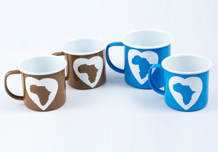 African continent cups from Lumela afrika - 9485