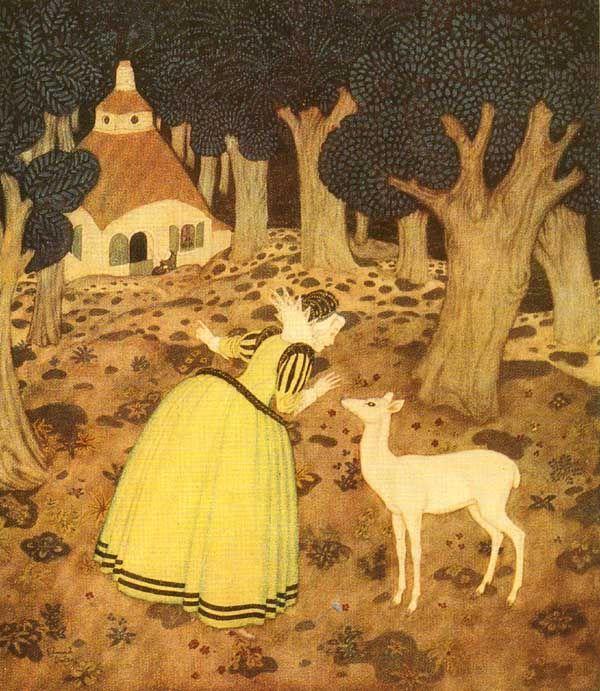 :: Sweet Illustrated Storytime :: Illustration by Edmund Dulac