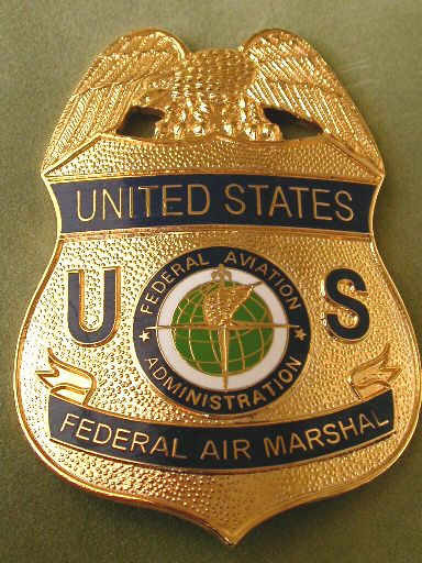 Federal Air Marshal | US Federal Police Badges | Fire ...