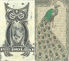 Mark Wagner's Dollar Bill Collages by MyOwlBar…