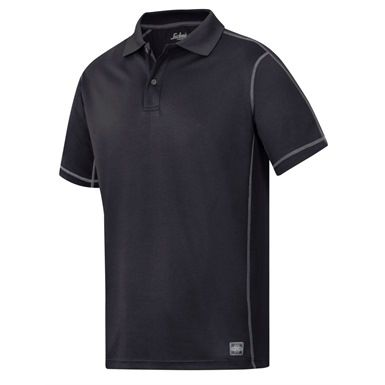 The stylish Snickers 2711 A.V.S. Polo Shirt, Jersey is made from a lightweight breathable polyester for excellent comfort whilst working. It's been specially designed to wick moisture away from the body to keep you dry, plus it has an anti-odour finish, which is also UV protective.