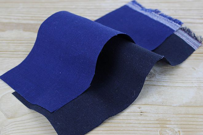 Linen/Cotton Shirtings - Oxford Blue & Ink
