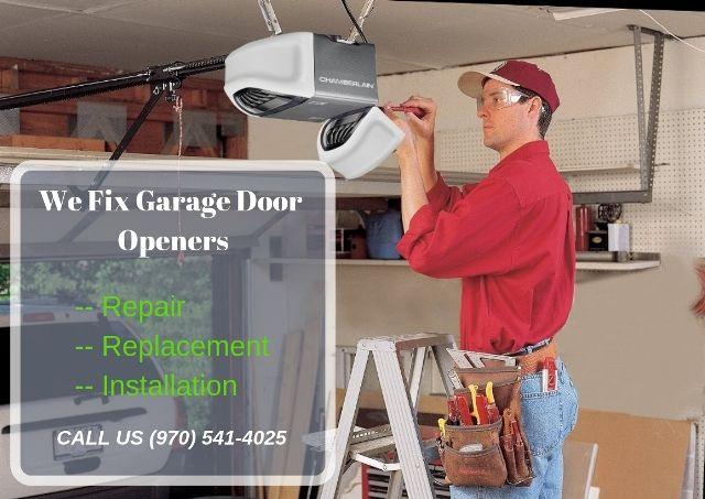 You Should Know Cost For Garage Door Opener Repairs Installation In Loveland Usa Garage Door Opener Repair Garage Doors Garage Door Repair