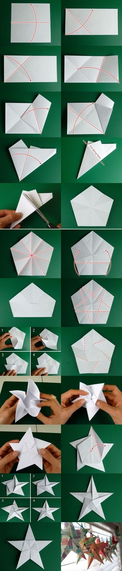 How to make a paper star                                                                                                                                                                                 More