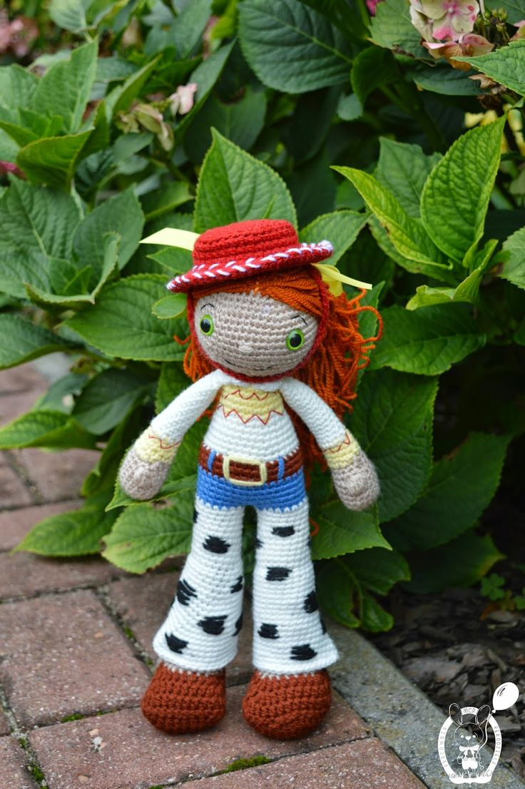 My Crochet Privacy ...: Lalka Jessie (Toy Story) / Jessie the Doll (Toy Story)