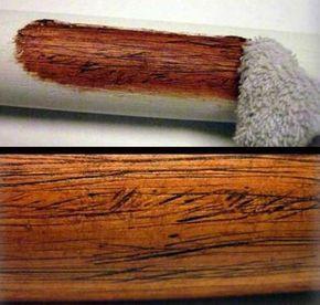 Une autre bonne raison d'incorporer les tuyaux en PVC dans vos projets créatifs: Voici l'astuce pour lui donner l'apparence du bois!