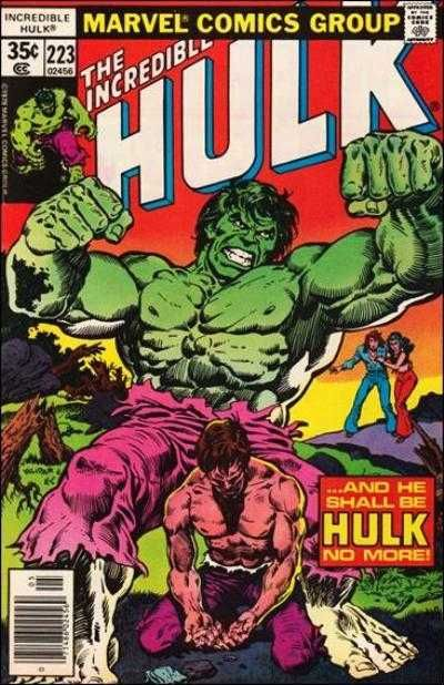 The Incredible Hulk #223 - The Curing of Dr. Banner!