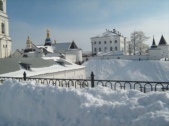Тобольск - зима
