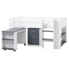 Набір меблів UDBY біли/сірий