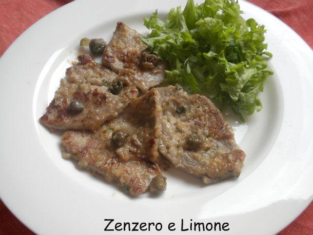SCALOPPINE ai CAPPERI (ricetta velocissima)