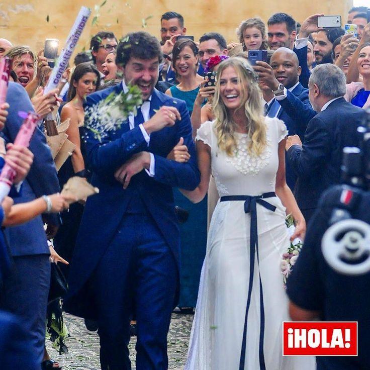 """Sergio Llull, el jugador del Real Madrid de baloncesto, y Almudena Cánovas ya se han dado el """"sí, quiero"""". La ceremonia ha tenido lugar en Mahón (Menorca), ciudad natal del novio, donde la pareja ha compartido con sus familiares y amigos un momento único y especial. @23llull @almusca #sergiollull #boda #realmadridbaloncesto"""