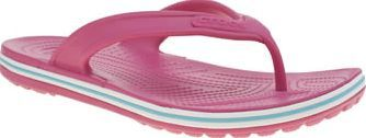 Crocs Pink Crocband Lopro Flip Womens Sandals The sleek new profile of the Crocs Crocband Lopro Flip is a summer must-have. Constructed of Croslite material, this pink flip-flop style features blue and white accents, footbed nubs to promote blood http://www.comparestoreprices.co.uk/january-2017-8/crocs-pink-crocband-lopro-flip-womens-sandals.asp
