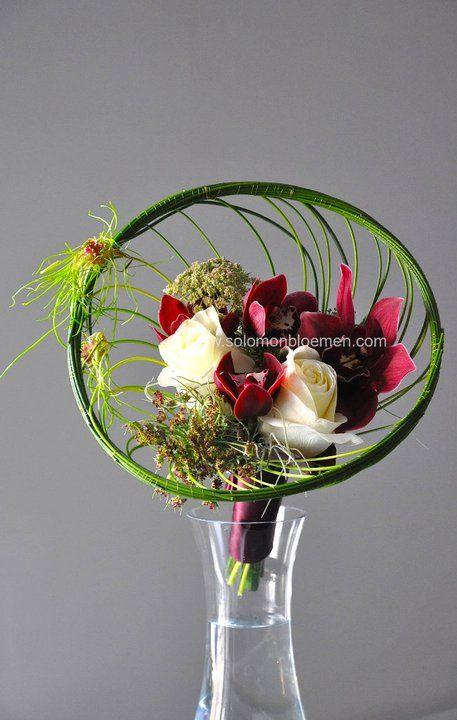 Bouquet - flower school class works | Solomon bloemen bespoke floral designs