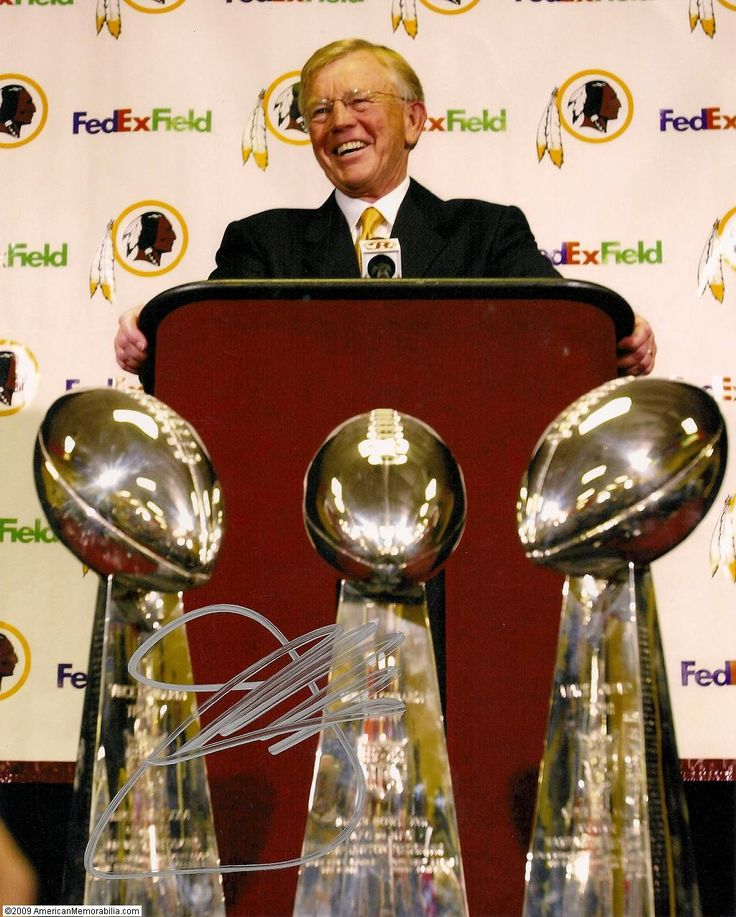 Coach Joe Gibbs 3-Time SuperBowl Champ