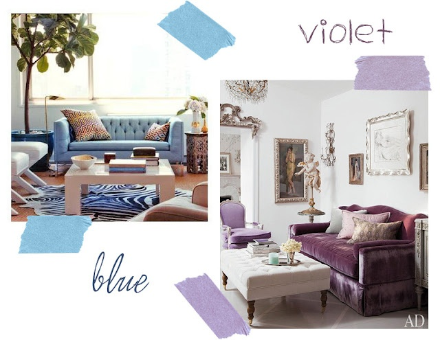 Color blue purple living room decor and more pinterest