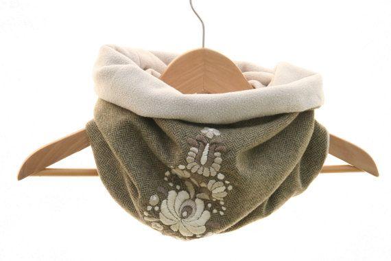 Hungarian tube scarf handmade by MatyoKid