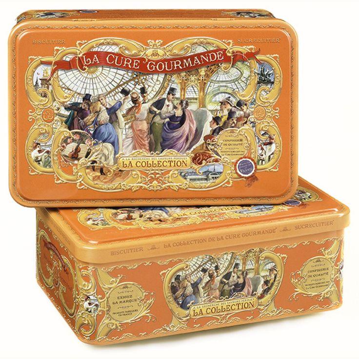 Boîte à biscuits Rectangle Orange – Commandez | Collection Orange