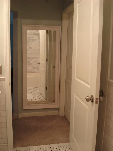Jeannine small and chic home a new ikea purchase for for Hallway bathroom ideas
