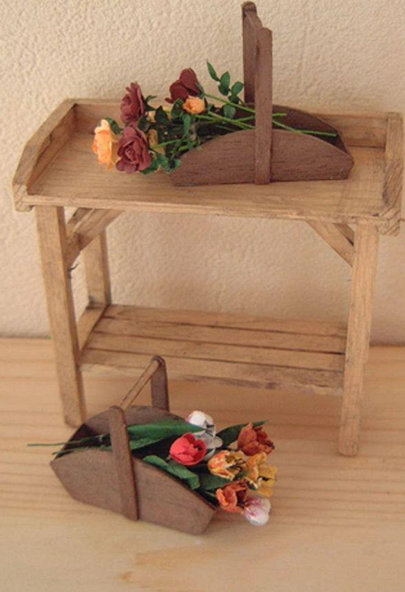 making a miniature trug