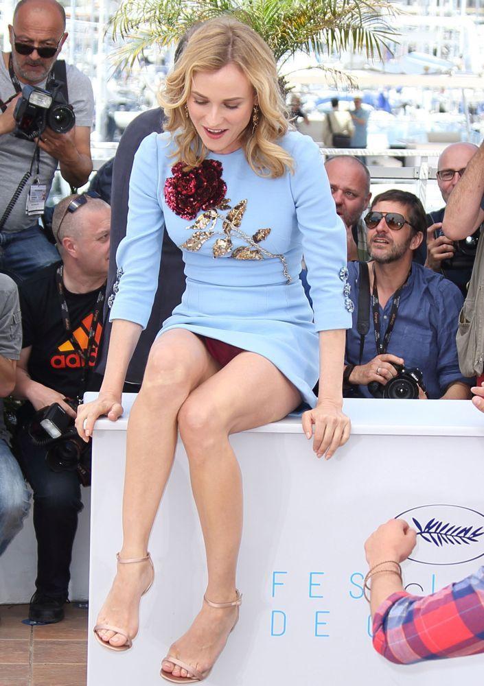 Celebrity crotch slips