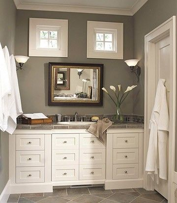 196 best master bath remodel inspiration images on pinterest for Craftsman bathroom design