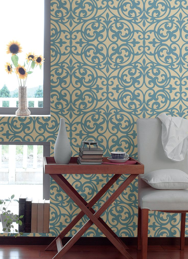 Living Room Feature Wall Designs: 131 Best Images About Brewster Wallcovering On Pinterest