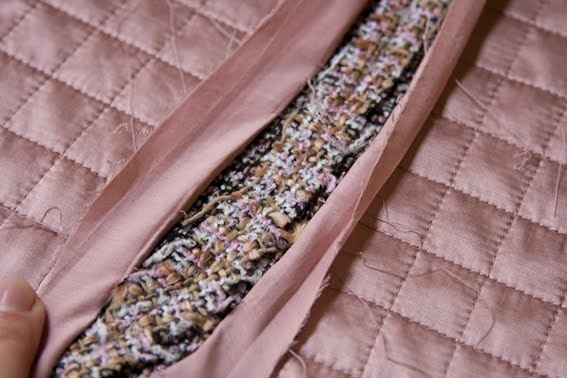 Classic Chanel Quilted Lining