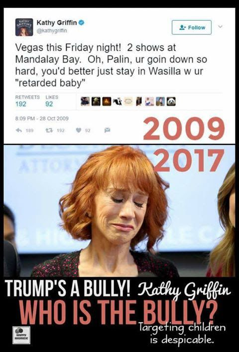 She's a sick woman who made a living bullying others.   Hopefully she falls hard and doesn't get back up.