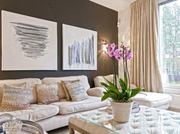 Myytävät asunnot, Krogiuksentie 11, Helsinki   #oikotieasunnot #olohuone #livingroom