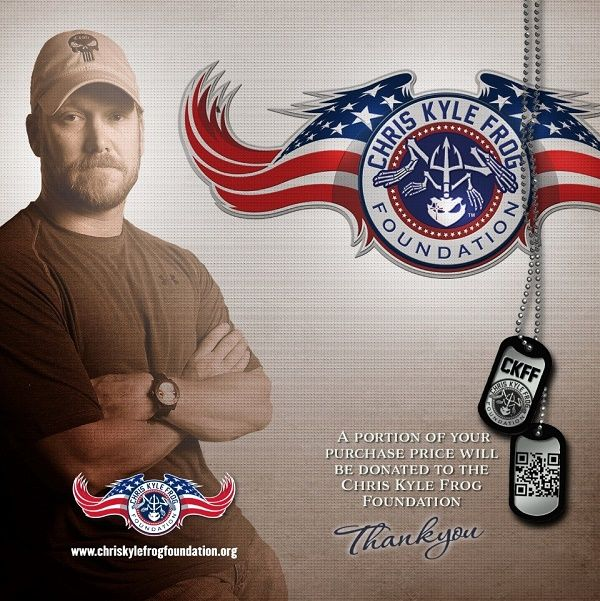 Chris Kyle Frog Foundation T-Shirts and Merchandise