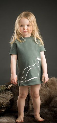 Kids T-shirt with grouse  from Scandinavian designer Kläppi- Nordic Design Collective