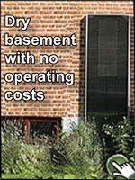 Dry basement ventilation, dehumidification. #solarventi #solarventiau