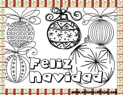tarjetas con adornos de navidad para de navidad para imprimir y colorear