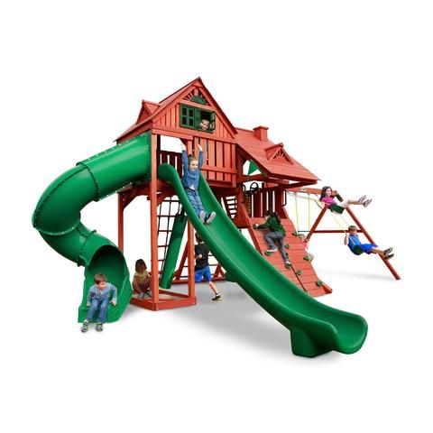 Sun Palace Deluxe Swing Set_Gorilla Playsets_YardKid