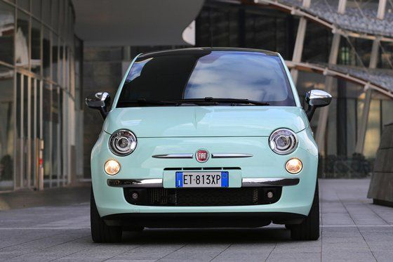Fiat 500 in Smooth Mint