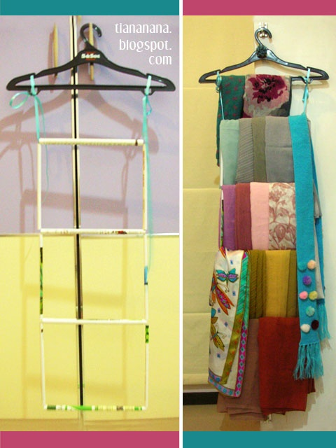 23 Best Images About Scarf Hangers On Pinterest Tie